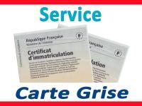 NOUVEAU !!!  SERVICES CARTE GRISE